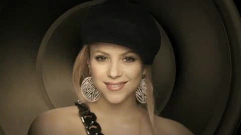 video Shakira Give It Up To Me Feat Lil Wayne İLK 2009